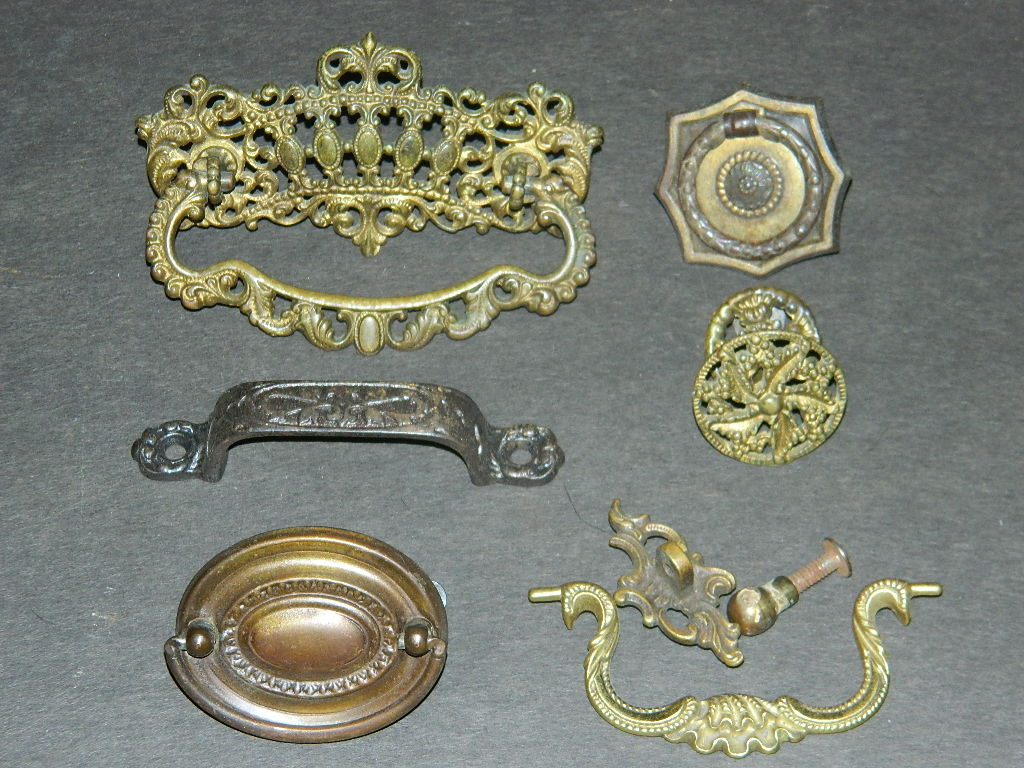 Charmant Antique Hardware, Restoration Hardware, Drawer Pulls