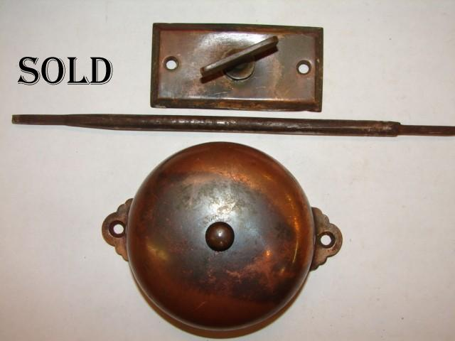 Antique Restoration Hardware - Robinson's Antique Hardware - Door Bells, Doorbells