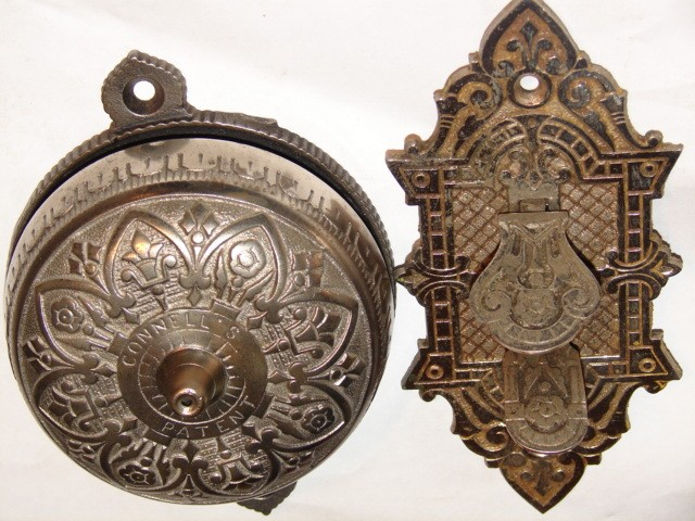 Item #DB30 · Antique Restoration Hardware - Robinson's Antique Hardware - Door Bells, Doorbells