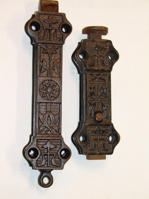 Antique Restoration Hardware - Robinson'sAntiques Antique Hardware - Door Latch Bolts