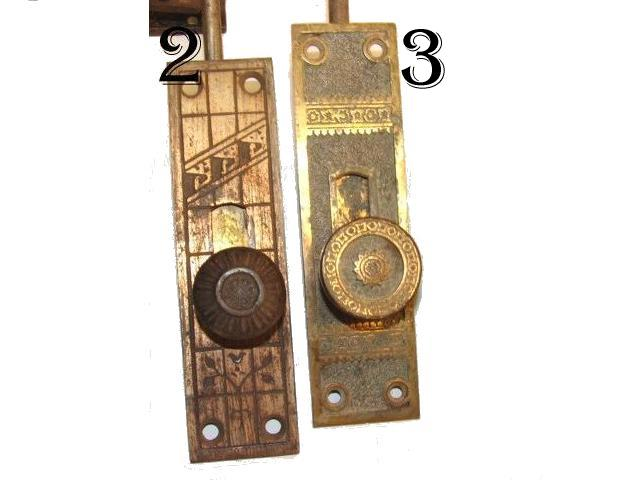 Item #DLBHALF1 · Antique Door Latch Bolts - RobinsonsAntiques Antique Hardware - Door Latch Bolts