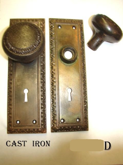 ... Antique Restoration Hardware, Deco Door Knob Set 3d ...