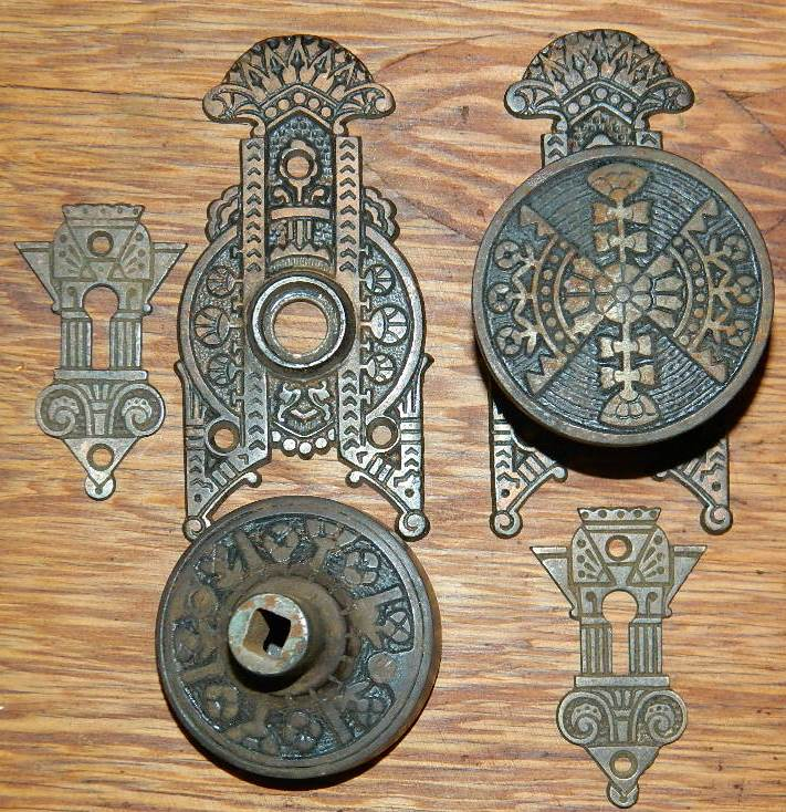 Robinsons Antique Hardware brass iron door knobs
