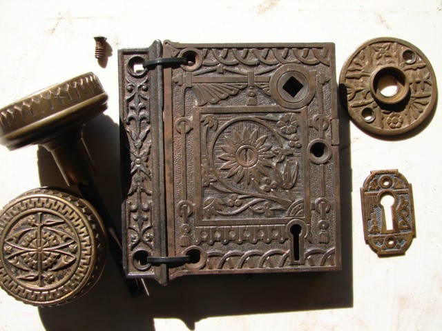 Antique Door Locks robinson's antique hardware -brass & iron door knobs