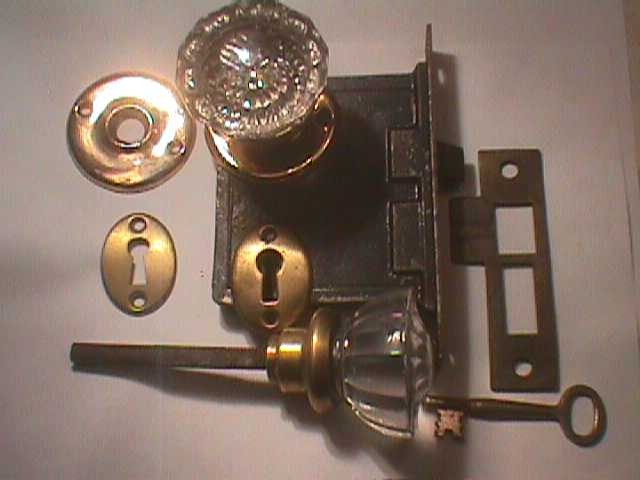 Robinson\'s Antique Hardware -Glass Door Knob Sets