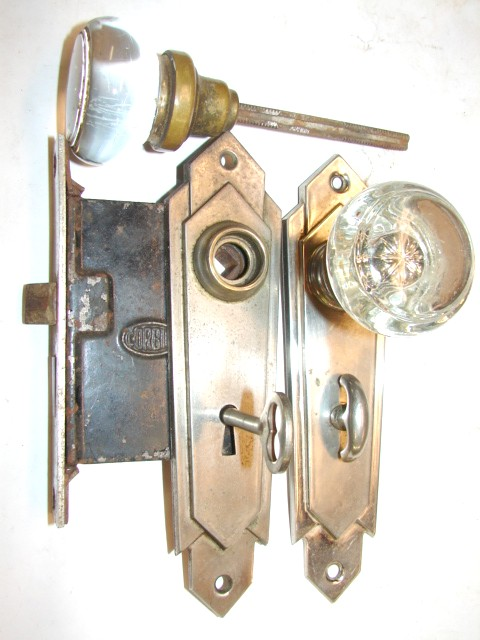 Antique Glass Door Knobs