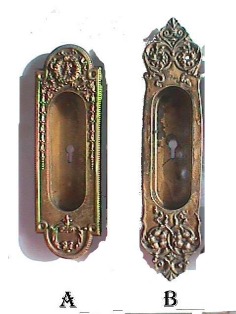 Antique Restoration Hardware - Robinson's Antiques Antique Hardware -pocket Door Hardware