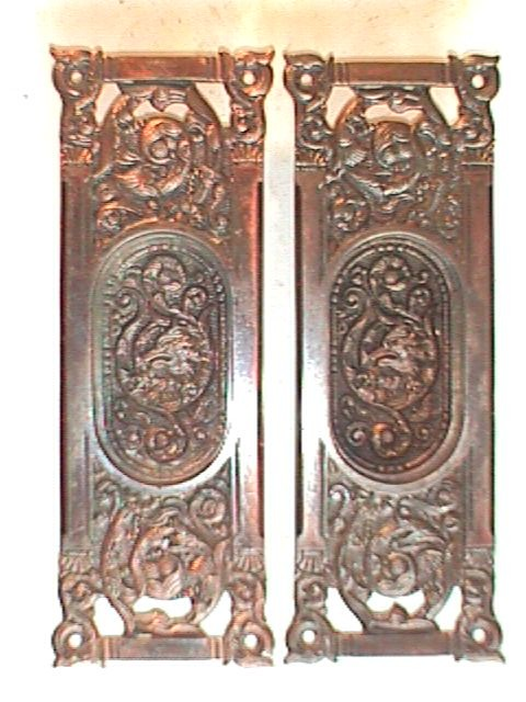 Antique Door Hardware robinson's antique hardware -pocket door hardware