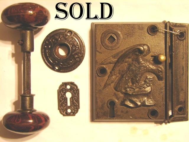 antique restoration hardware & Antique Door Locks. . Antique Swirl Bolt Knob With Back Plate ... pezcame.com
