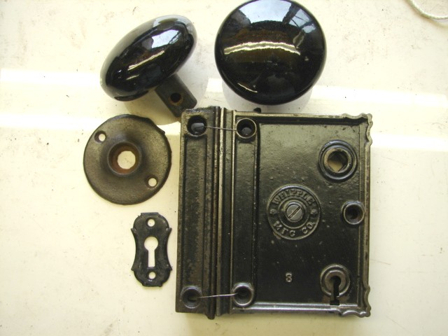 Antique Restoration Hardware - Robinson's Antique Hardware - Early Rim Locks