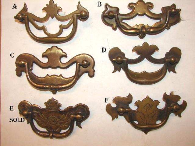 Robinson\'s Antiques Antique Hardware-Drawer Pulls 1920-1940