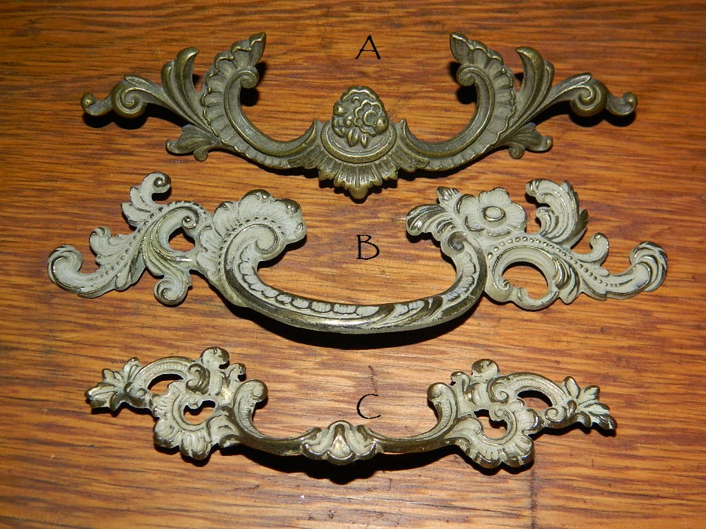 Antique Hardware, Restoration Hardware, Drawer Pulls