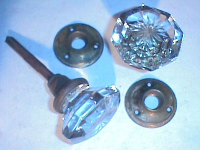 item gk10 antique restoration hardware glass door knob