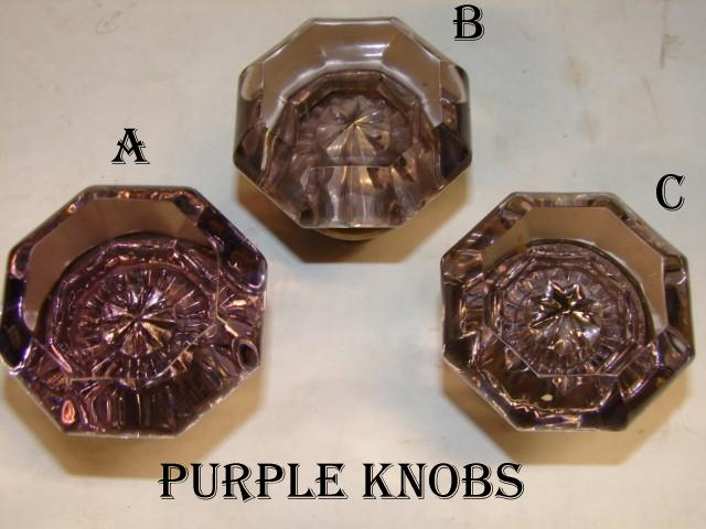 antique glass door knob