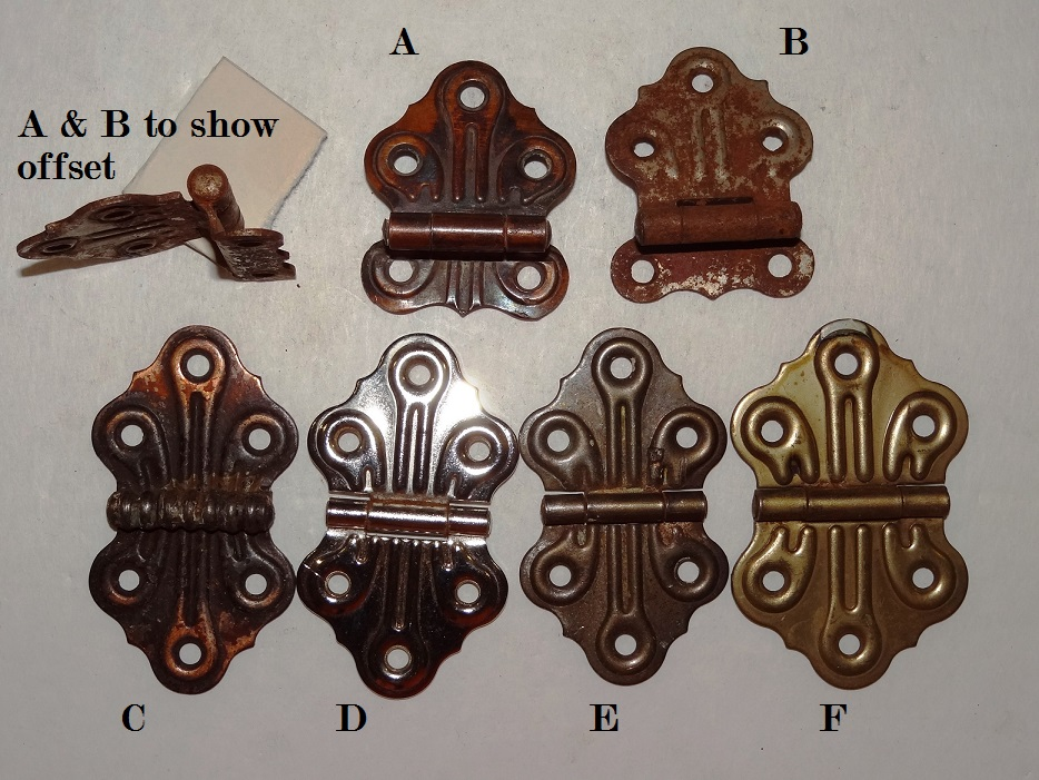 Antique Restoration Hardware, Hinges - Robinson's Antique Hardware - Hinges