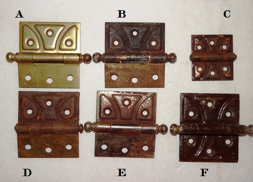 Antique Restoration Hardware, Hinge
