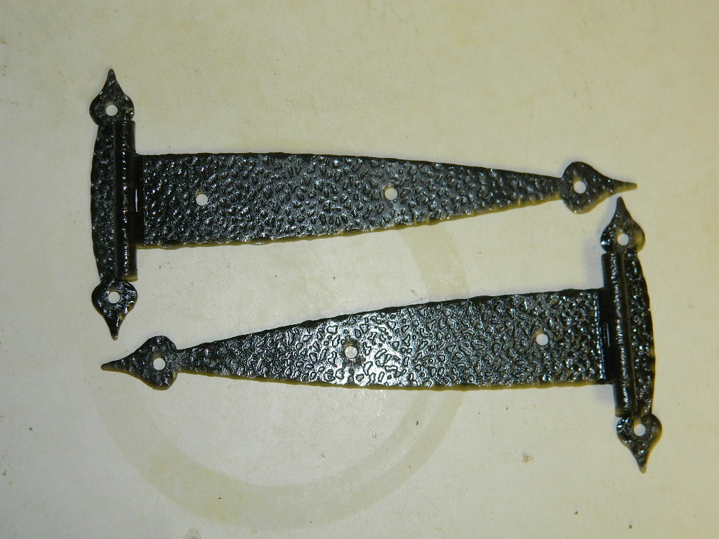 Item #FHinge3, Antique Restoration Hardware, Hinge - Robinson's Antique Hardware - Hinges