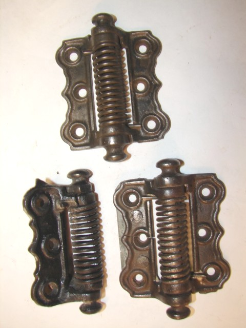 Item #SDHINGE6 · Antique Restoration Hardware, Hinge - Robinson's Antique Hardware -Screen Door Hinges