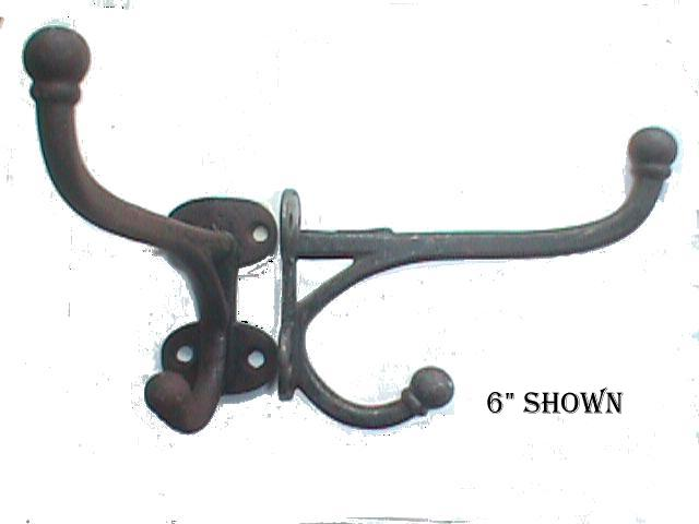 Robinson's Antiques Antique Hardware - Cast Iron Harness Hooks
