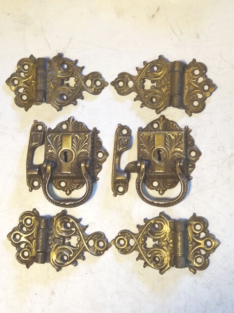 Antique Restoration Hardware, Ice Box Hardware