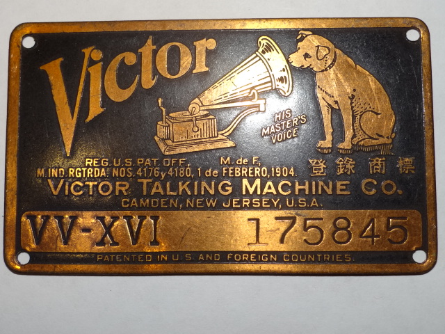 Antique Restoration Hardware, Phonograph Label