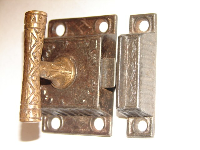 Antique Restoration Hardware, Cupboard Latch