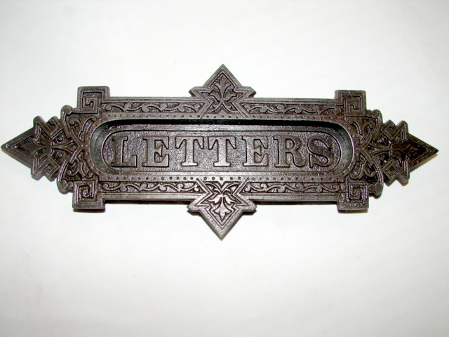 Antique Restoration Hardware, Mail - Robinson's Antique Hardware - Mail Slot - Letter Slots