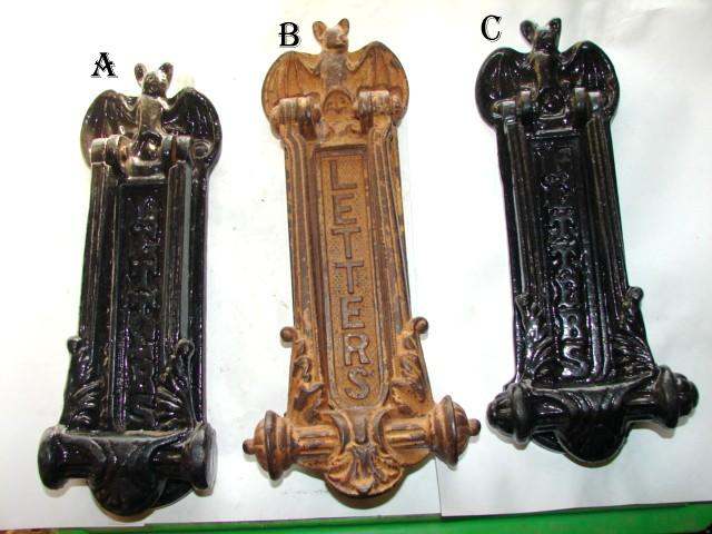 Item #mail26, Antique Restoration Hardware, Mail - Robinson's Antique Hardware - Mail Slot - Letter Slots